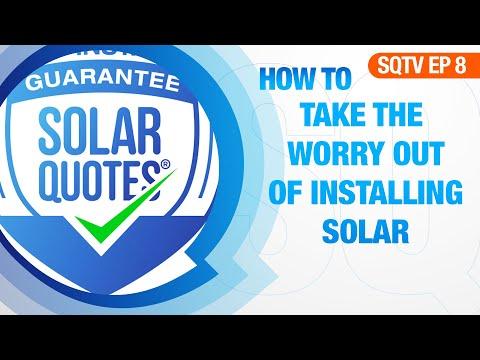Get Worry Free Solar - SolarQuotes Good Installer Guarantee