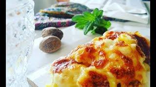 Beşamel Soslu Patates Havuç / Potato With Bechamel Sauce / Çocuklar İçin PRATİK PATATESLİ YEMEK