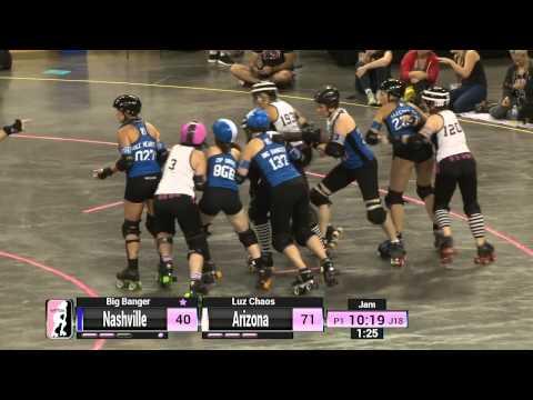 WFTDA Roller Derby: 2014 Division 1 Playoffs, Evansville: Nashville vs. Arizona