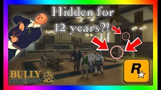 THIS BETA CONTENT REMAINED HIDDEN FOR 12 YEARS!!! (BETA BULLY NEW FINDINGS)