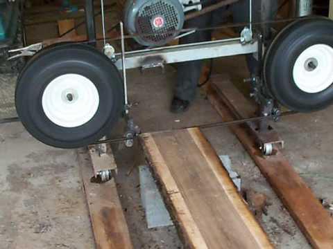 homemade chainsaw sawmill plans pdf