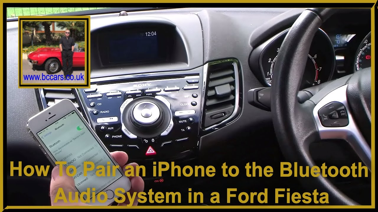 how to pair an iphone to the bluetooth telephone audio. Black Bedroom Furniture Sets. Home Design Ideas
