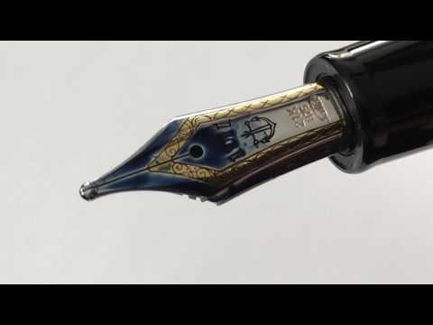 Sailor Fountain Pen Nib Comparison