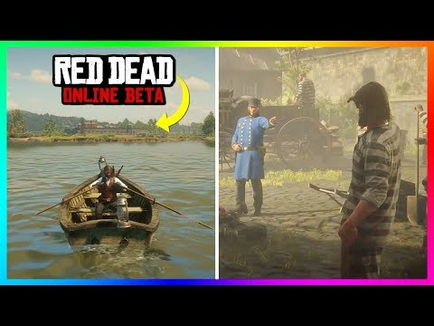 What Happens If You Return To The Sisika Penitentiary Prison In Red Dead Online? (Going To Jail)