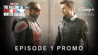 #tfatws #marvelstudios #disneyplustake a look at our brand 'new promo tv spot episode 1' concept for disney+ series 'the falcon and the winter soldier' feat...