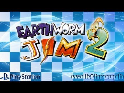 Earthworm Jim 2 (PlayStation) - Walkthrough