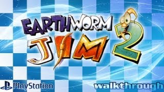 Earthworm Jim 2 (PlayStation) - Walkthrough