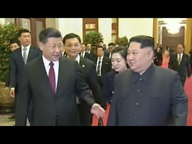 Kim Jong Un visits Chinese President Xi Jinping in Beijing