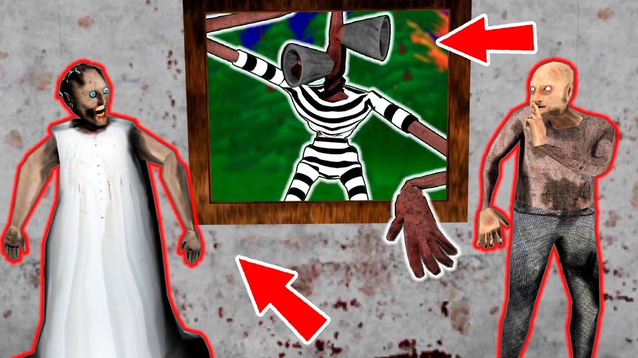 Siren Head Prisoner vs Granny and Grandpa - funny horror animation parody (p.91)