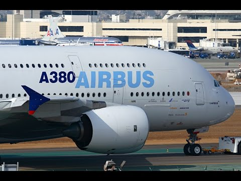 Airbus in the USA at Los Angeles International Airport