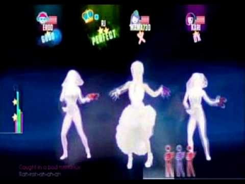 Just Dance 2015 ( Bad Romance Lady Gaga) 4 Stars ( ON WII )