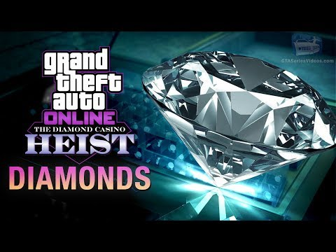 GTA Online Casino Heist - Diamonds Vault Contents (Big Con & Elite In Hard Mode)