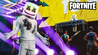 Fortnite: New Marshmello Event Live Concert (Full Encore)