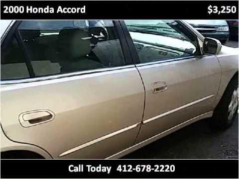 2000 Honda Accord Used Cars North Versailles PA