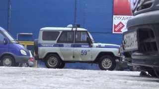Лесосибирск работает Полиция. Район парка 21.11.2013
