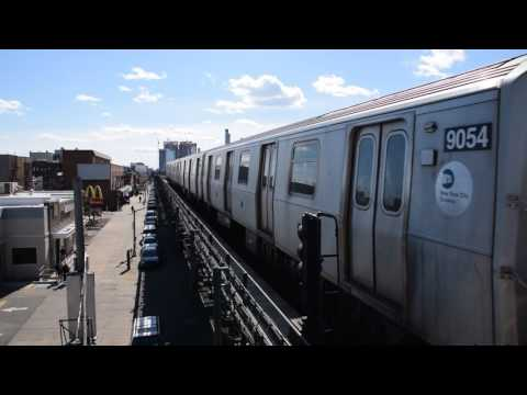 Astoria Line: Astoria bound N train of R160Bs at Broadway