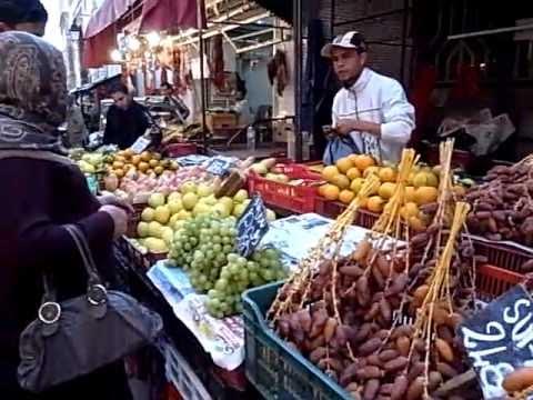 Old City Market - Tunis,Tunisia マーケット散策(チュニジア・チュニス)