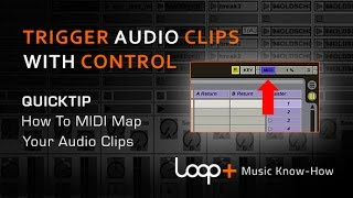 MIDI Mapping Audio Loops In Ableton - Loop+ Quick Tip