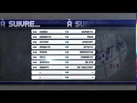 SPORTFM TV - LES MATCHS DE LA 21ème JOURNEE A SUIVRE CE DIMANCHE, 11 MARS 2018