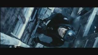 Minority Report Critique - Jetpack scene