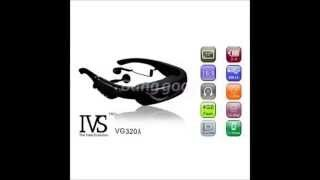 VG320A Portable 72 Inch Multimedia Player Digital Video Glasses