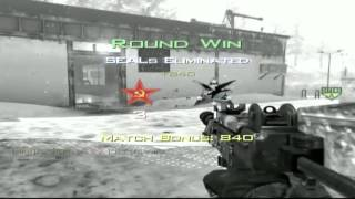 Best Throwing Knife Kill Cam Ever MW2