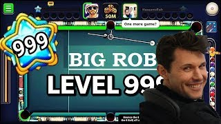Big Rob Real Account in 8 Ball Pool - Owner Of 8 Ball Pool Game
