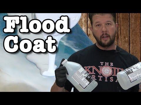 Epoxy Resin Flood Coat Tutorial   Stone Coat Epoxy