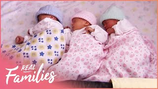 What It's Like Having Triplets | Birth Days | Real Families