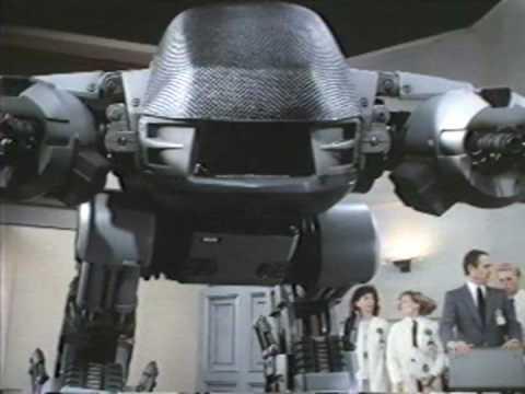 Robocop - Only a Glitch scene