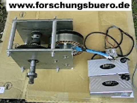 Brushless Motor BLDC 5 kW für Elektromobil