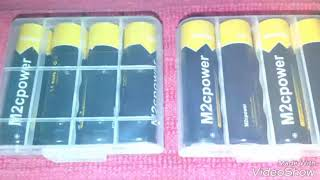 M2cpower® NiMH 2800mAh AA Rechargeable Batteries Review