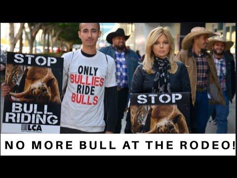 Activists Say No More Bull At The Rodeo!