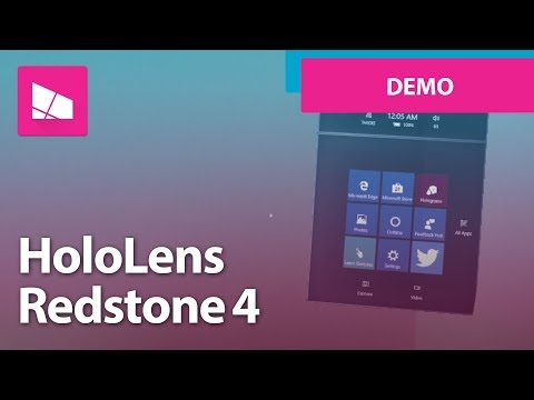 Microsoft HoloLens Spring 2018 Update Improvements