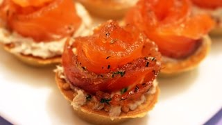 Тарталетки с рыбой - Готовим вкусно и красиво