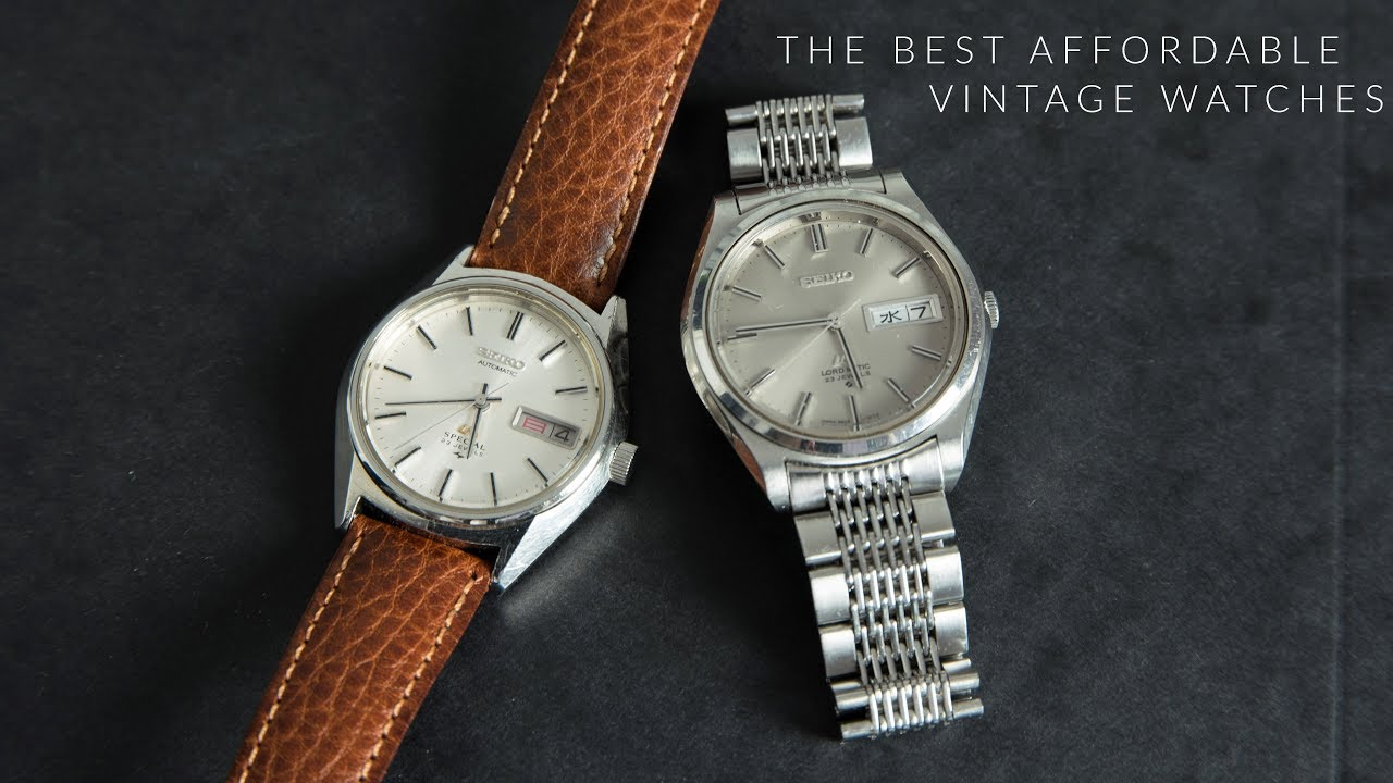 The best vintage watches under 300 youtube for Watches under 300