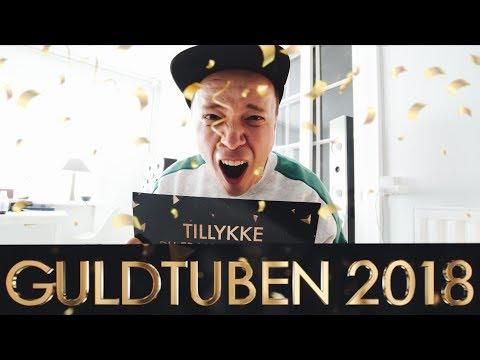 JEG ER NOMINERET TIL GULDTUBEN 2018!!!