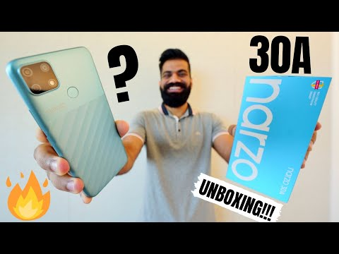 Realme Narzo 30A Unboxing & First Look - Best Budget Smartphone!!!