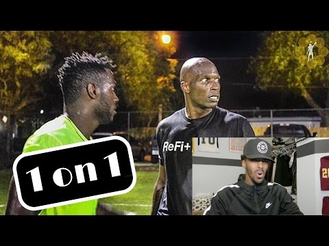 CRAZY 1on1 CHAD (OCHO CINCO) JOHNSON VS ANTONIO BROWN!!
