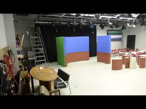New set for TV/Film at DeSales University