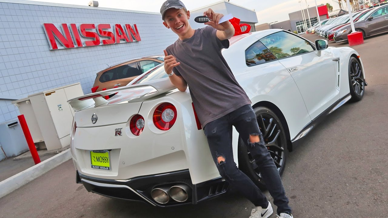 Tanner Fox Gtr Price >> BUYING MY DREAM CAR AT AGE 16... AGAIN! - YouTube