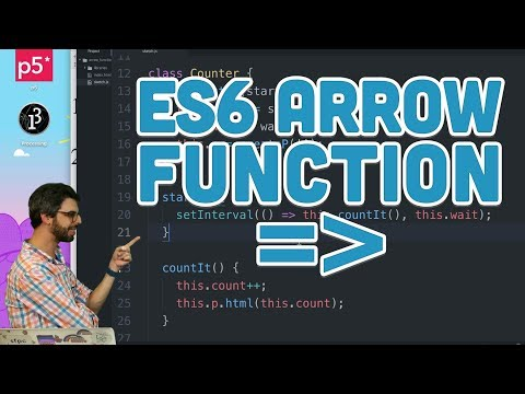 16.3: ES6 Arrow Function - Topics of JavaScript/ES6