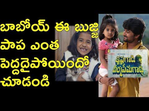 Krishna Gadi Veera Prema Gadha Kid is Grownup Now | Naina