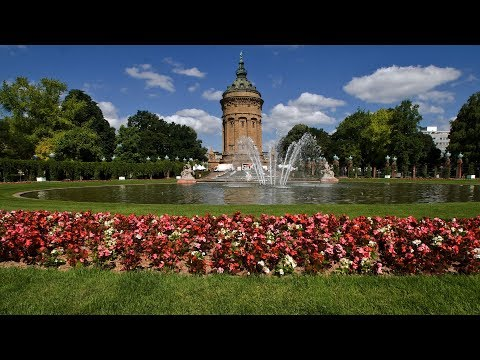 Mannheim, Baden-Württemberg, Germany - The City of Squares
