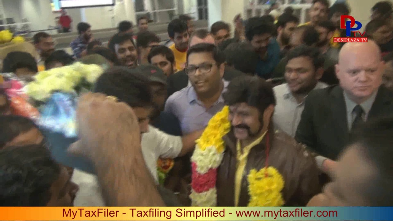 Outrageous welcome to Nandamuri Balakrishna visit to Dallas| 2017