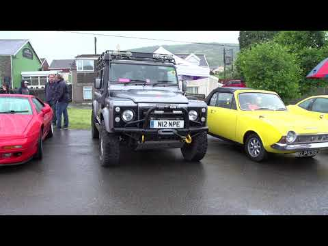 Maesteg Festival 2018: South Wales Classic Car Show