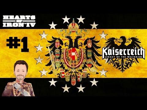 Austria | 1 | KaiserReich | Hearts of Iron 4