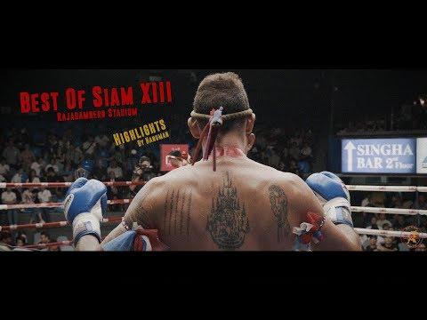 """Best Of Siam XIII"" : Rajadamnern Stadium Highlights [4K]"