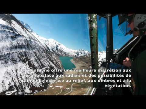 Vol montagne Transall