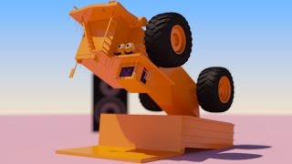 VIDS for KIDS in 3d (HD) - Funny Dancing Big Dump Truck Billy - AApV